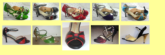 A selection of Ladies shoes
